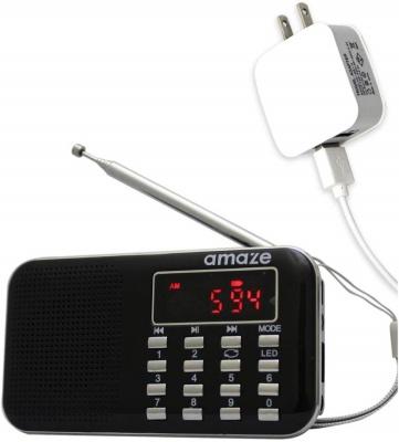 コンセントに差して使えるラジオ