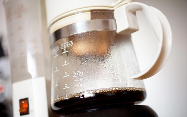 コーヒーメーカーのガラスサーバー