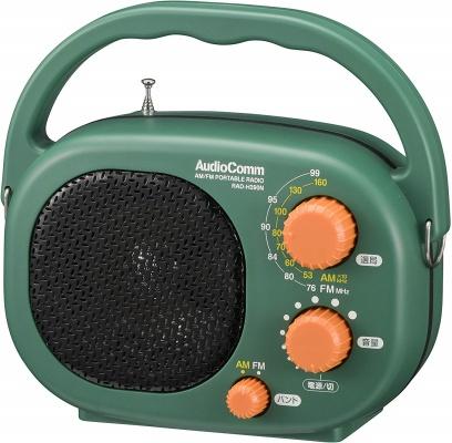 オーム電機 AudioComm 豊作ラジオ PLUS_RAD-H390N