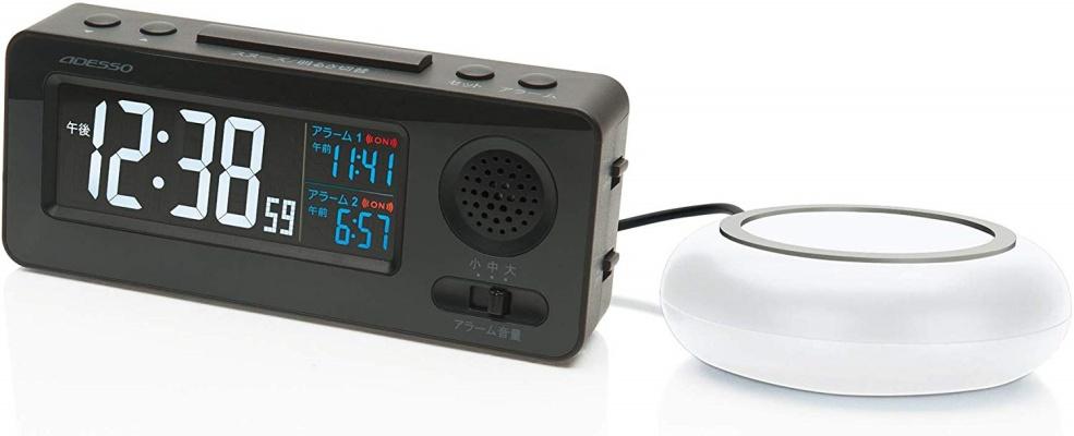 ADESSO(アデッソ) MY-96 振動式目覚まし電波時計