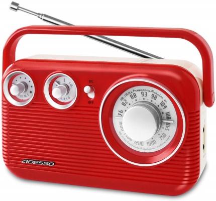 ADESSO(アデッソ) ラジオ レッド RA-601RD