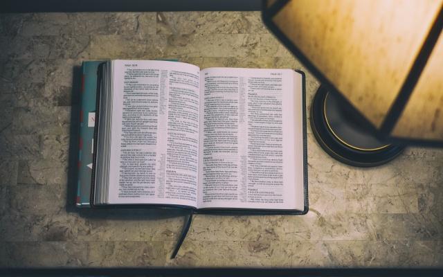 本を照らすデスクライト