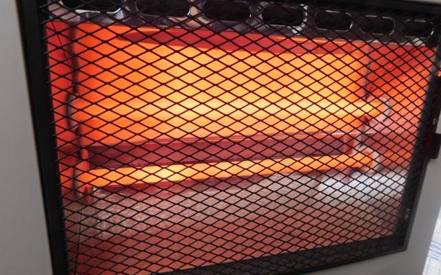 電気ストーブの加熱部