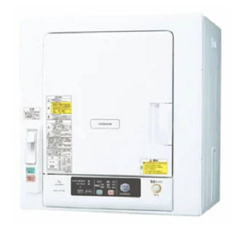 日立(HITACHI) 衣類乾燥機DE-N60WV-W