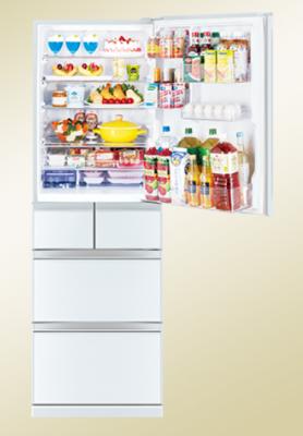 三菱電機(MITSUBISHI ELECTRIC)  冷蔵庫MR-B46E-W
