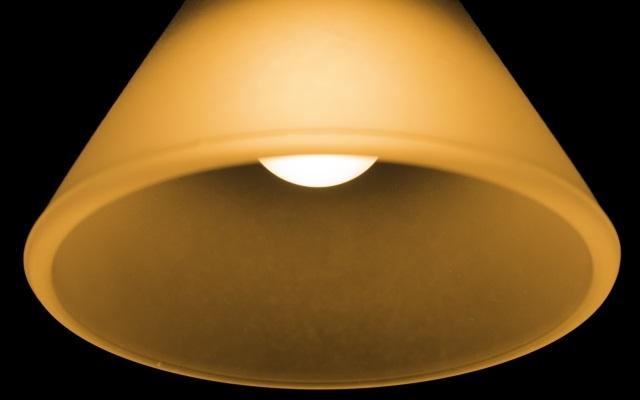 暗所で光るナイトライト