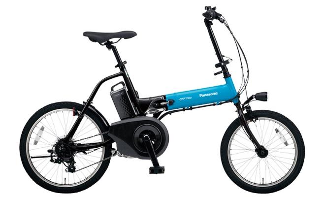 パナソニック(Panasonic) 折り畳み電動自転車 オフタイム ELW073