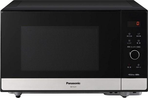パナソニック(Panasonic) 電子レンジメタルブラック NE-FL221-K