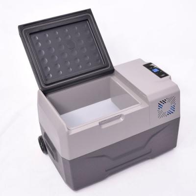 サンコー(THANKO) バッテリー内蔵 30L ひえひえ冷蔵冷凍庫 CLBOX30L