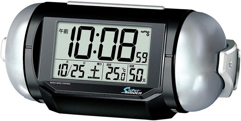 SEIKO(セイコー) ピクシス 目覚まし時計 NR523K スーパーライデン