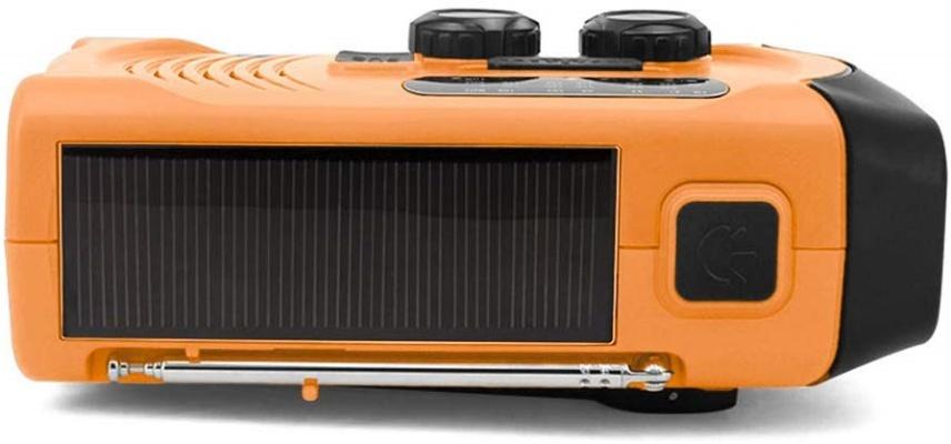太陽光給電ができるラジオ