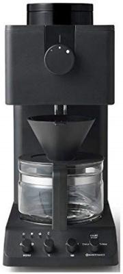 ツインバード(TWINBIRD) 全自動コーヒーメーカー CM-D457B ブラック