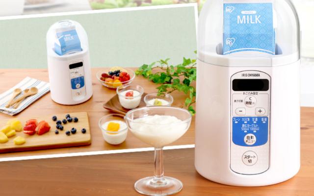 牛乳パック使用可能タイプのヨーグルトメーカー
