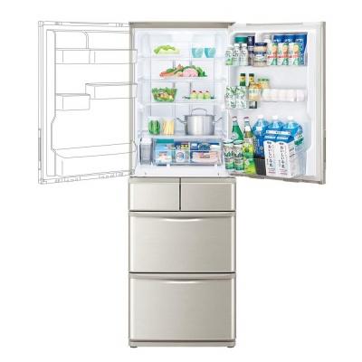 両開きの冷蔵庫イメージ