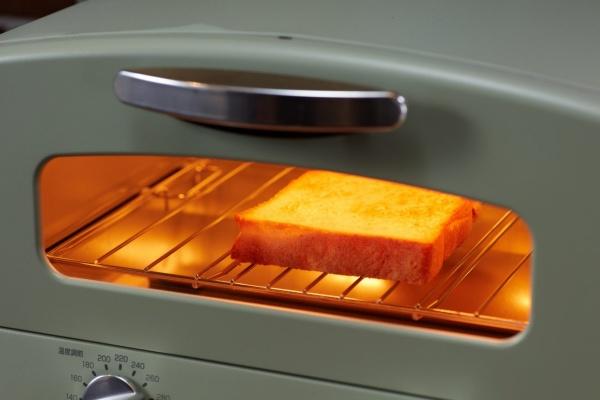遠赤グラファイト式のオーブントースター