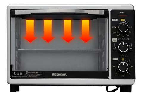 コンベクションオーブンのグリル機能