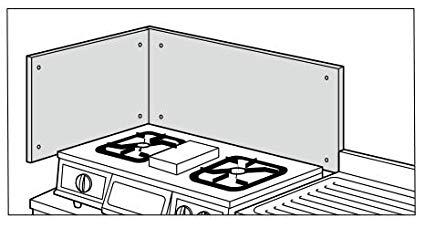 コンロ横の防熱板