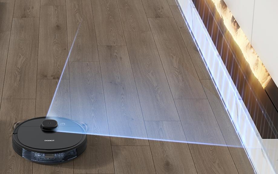 ロボット掃除機のセンサーイメージ