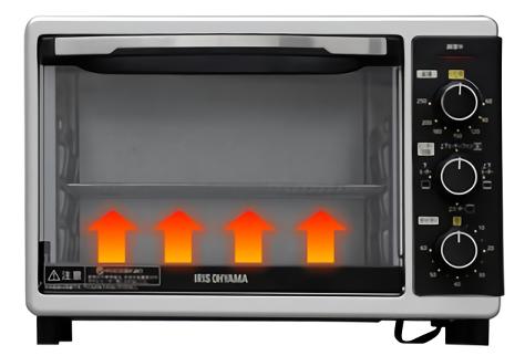 コンベクションオーブンのスローベーク機能