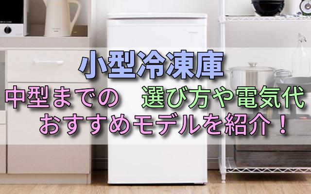 小型冷凍庫