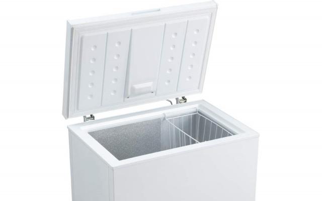 上開きタイプの冷凍庫