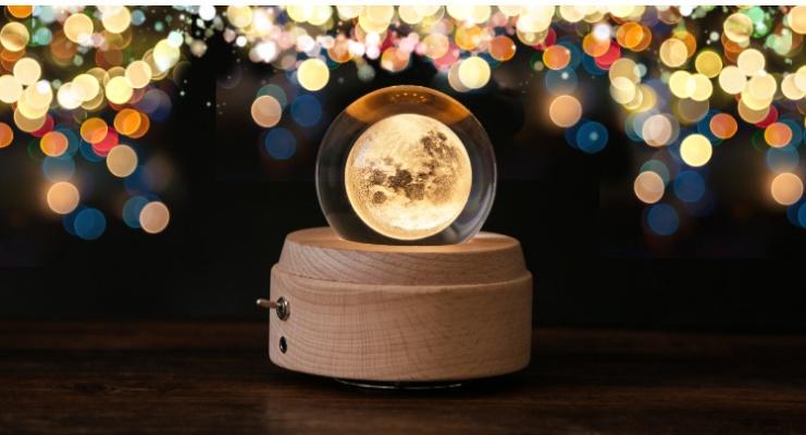 月投影ナイトライト オルゴール付き