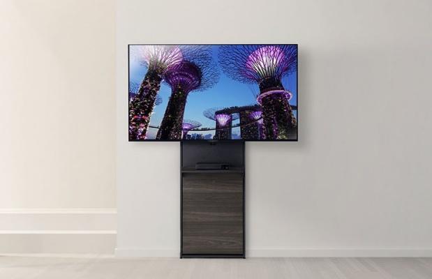 壁面スタンドタイプのテレビ台
