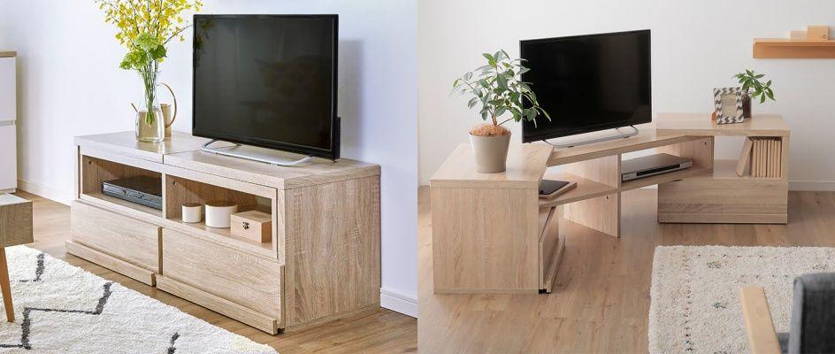 伸縮タイプのテレビ台