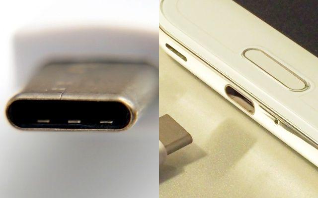 USB Type-Cケーブルとポート