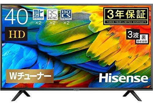 ハイセンス(Hisense) 40型 フルハイビジョン液晶テレビ 40H30E