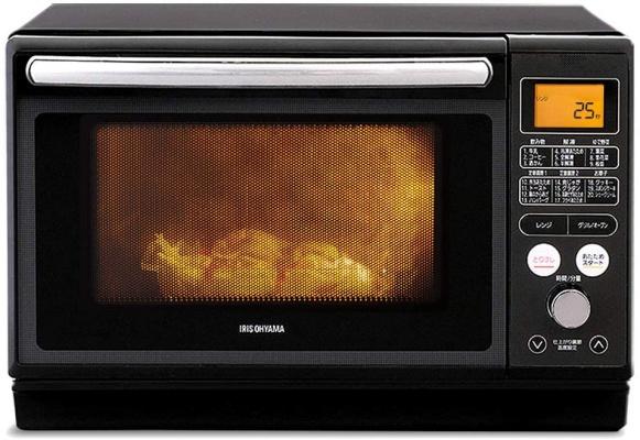 アイリスオーヤマ(IRIS OHYAMA) 過熱水蒸気 スチームオーブンレンジ MO-FS2403