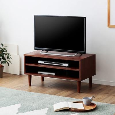 LOWYA(ロウヤ) ローテレビ台 木製 北欧ヴィンテージ調 F301-G1041-1S