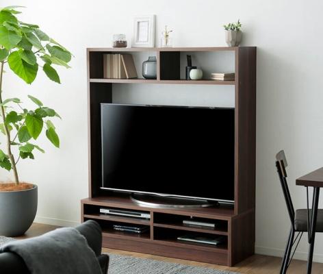 LOWYA(ロウヤ) 木製 壁面収納付テレビ台 F301-G1040