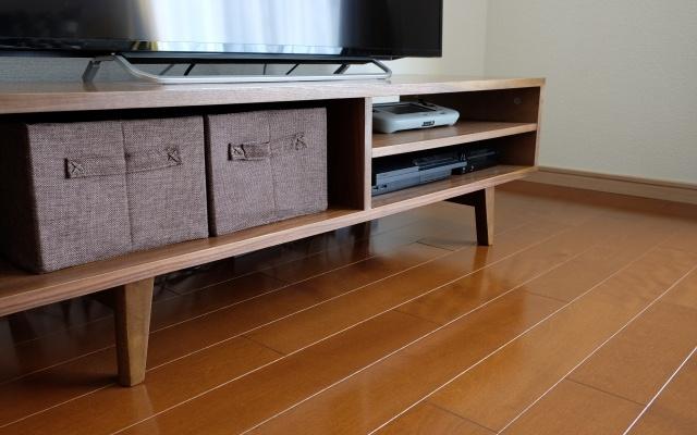オープンタイプのテレビ台