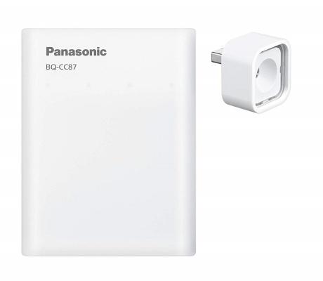 パナソニック(Panasonic) USB入出力急速充電器セット 単3形エネループ×4本付き K-KJ87MCC40L