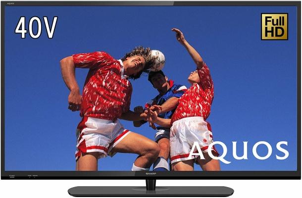 シャープ(SHARP) 40インチ 液晶フルハイビジョンテレビ AQUOS 2T-C40AE1