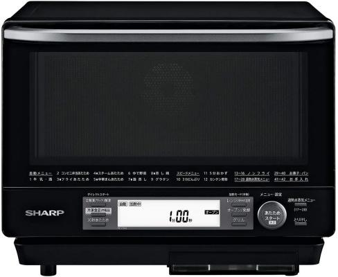 シャープ(SHARP) 過熱水蒸気オーブンレンジ RE-V100A-B