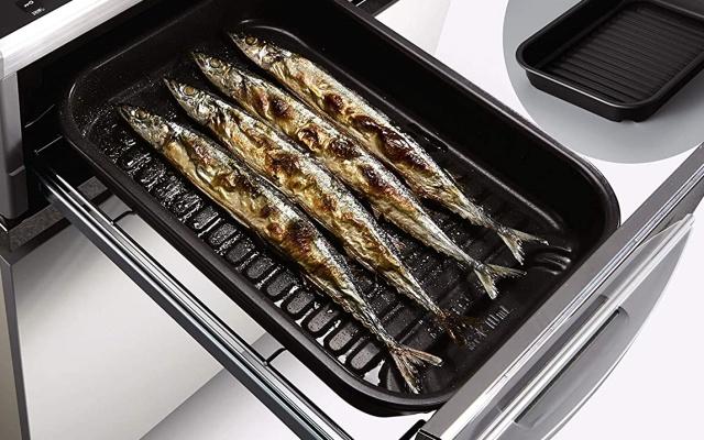 IHクッキングヒーターの魚焼きグリル
