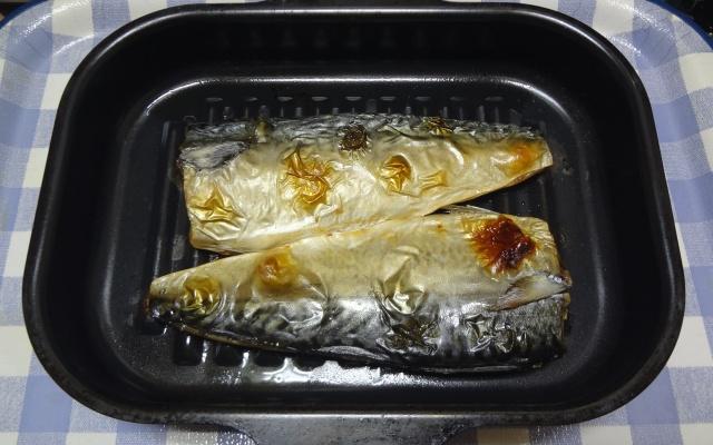 ラ・クックで作った焼き鯖