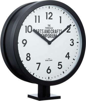 INTERFORM(インターフォルム) Robeston ロベストン 置き掛け兼用時計 CL-2138