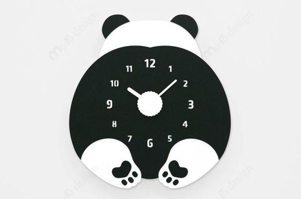 ハンドメイド mo:ro デザイン壁掛け時計 CHUBBY HIP