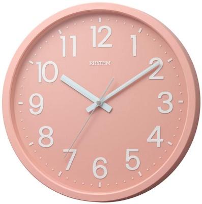 リズム時計工業(Rhythm) 掛け時計 フラットフェイスDN DAILY 4KGA06BZ13