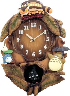 リズム時計工業(Rhythm) となりのトトロ 掛け時計 4MJ837MN06