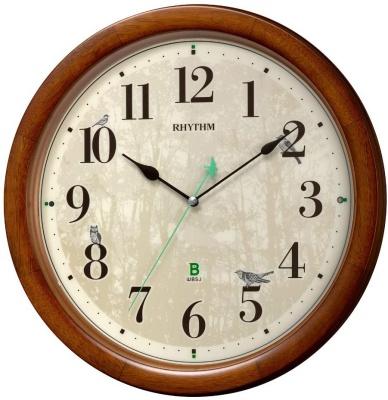 リズム時計工業(Rhythm) 日本野鳥の会 共同開発 掛け時計 8MN408SR06