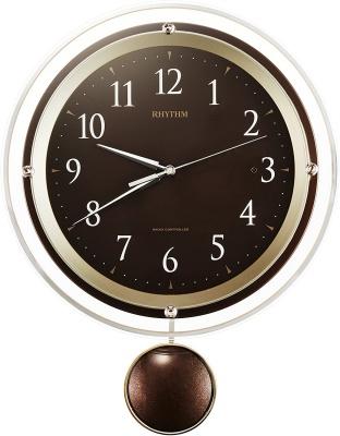 リズム時計工業(Rhythm) 掛け時計 振り子付き 8MX404SR06