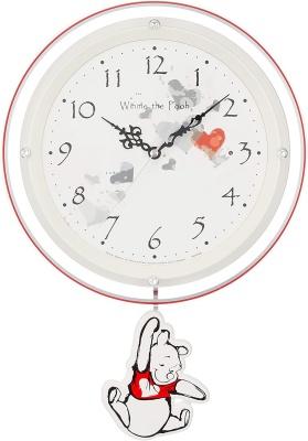 リズム時計工業(Rhythm) ディズニー掛け時計 くまのプーさん 8MX407MC03