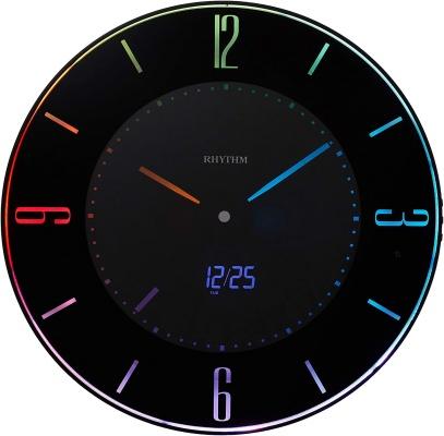 リズム時計工業(Rhythm) 置き掛け兼用時計 Iroria A 8RZ197SR02