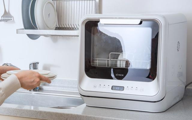 キッチンに設置された食器洗い乾燥機