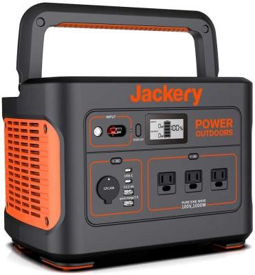Jackery 超大容量ポータブル電源 1000