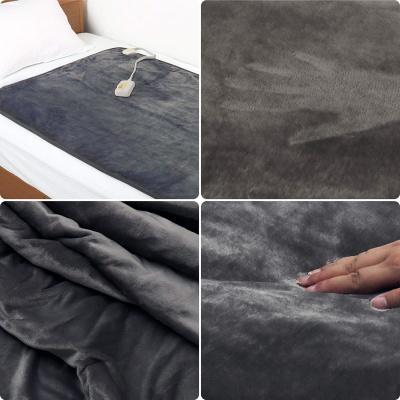 フランネル生地の電気毛布